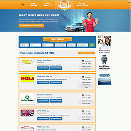 Autotrader Buy Here Pay Here Car Dealers