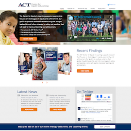ACT Center for Equity in Learning